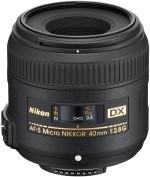 Nikon AF S DX Micro NIKKOR 40mm f/2.8G
