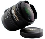 Tokina AT X 107 AF DX Fisheye 10 17 mm f/3.5 4.5 for Canon Digital SLR