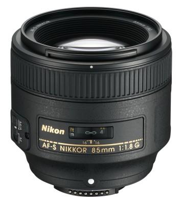 Nikon AF-S Nikkor 85 mm f/1.8G Lens Image