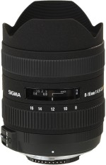 Sigma 8 16 mm F4.5 5.6 DC HSM for Canon Digital SLR