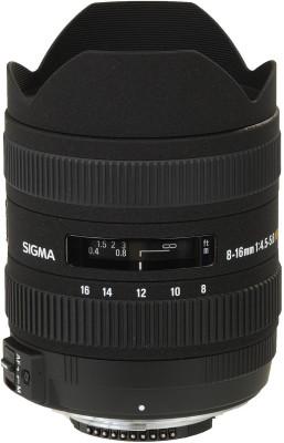 Buy Sigma 8 - 16 mm F4.5-5.6 DC HSM for Nikon Digital SLR Lens: Lens