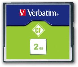Verbatim C F Card 2GB 133X Speed Memory Card