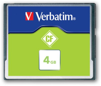 Verbatim C F Card 4GB 133X Speed Memory Card