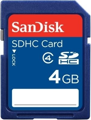 Buy SanDisk SDHC 4 GB Class 4: Memory Card