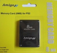 Amigo PS2 8 MB Memory Card: Memory Card