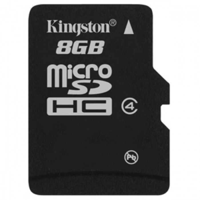 Kingston 8 GB MicroSD Card Class 4 4 MB/s Memory Card - Kingston ...