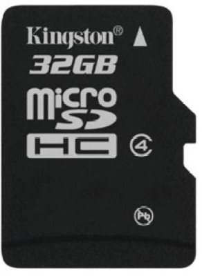 Buy Kingston Memory Card MicroSD 32 GB Class 4: Memory Card