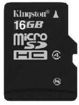 Buy Kingston MicroSD Card 16 GB Class 4: Memory Card