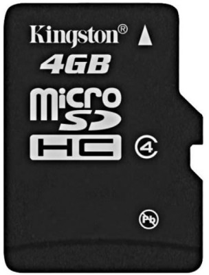 Buy Kingston MicroSD Card 4 GB Class 4: Memory Card