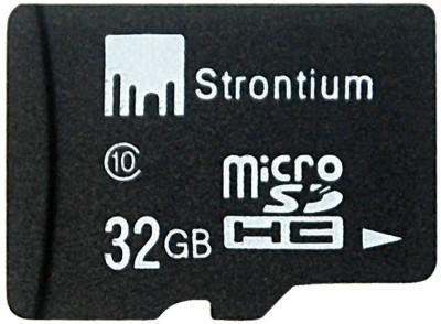 Buy Strontium MicroSD Card 32 GB Class 10: Memory Card