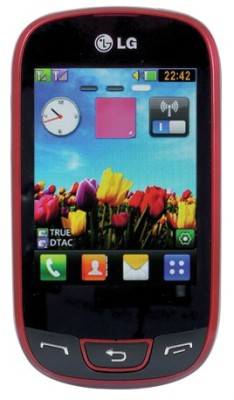 LG T515 (Wine Red, 50 MB)