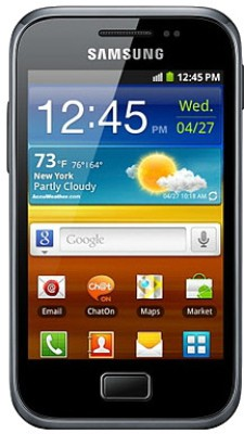 Samsung Galaxy Ace Plus (Dark Blue, 3 GB)