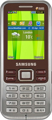 Samsung Metro DUOS C3322 Wine Red available at Flipkart for Rs.3610