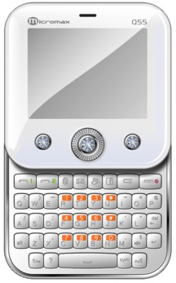 Micromax Bling (Pearl White)