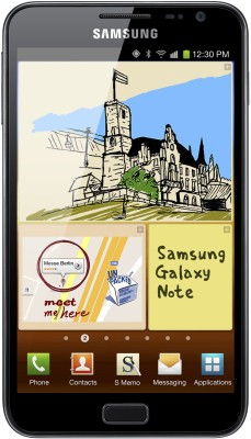 Samsung Galaxy Note N-7000 Blue