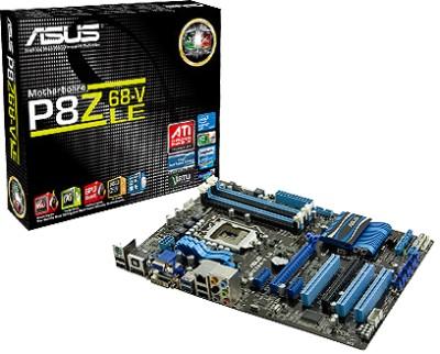 Buy ASUS P8Z68-V LE Motherboard: Motherboard