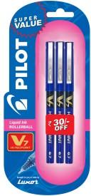 Pilot V7 (Pack of 3) Fineliner Pen