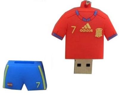 Microware Football Jersey Shape Designer 8 GB Pendrive