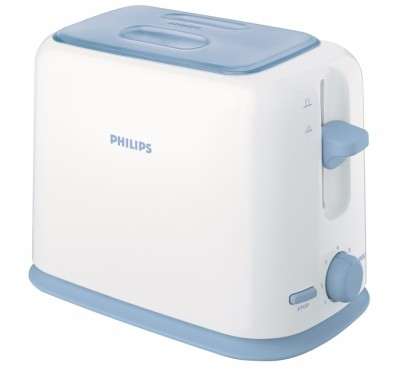 Philips HD2566/79 950 W Pop Up Toaster White and blue