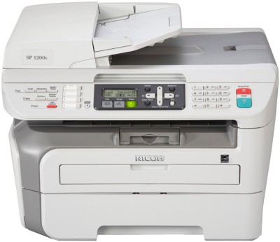 Buy Ricoh A4 Mono MFP - Aficio SP 1200S Multifunction Laser Printer: Printer
