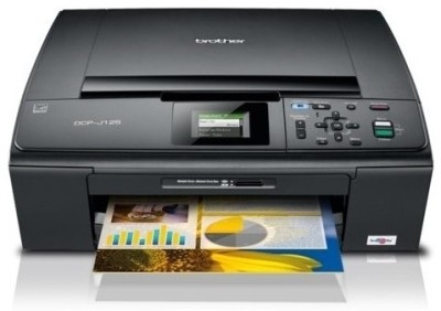 Buy Brother - DCP J125 Multi-function Inkjet Printer: Printer
