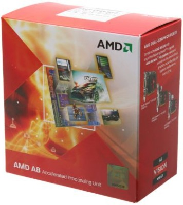 Buy AMD 2.9 GHz FM1 A8 3850 Processor: Processor