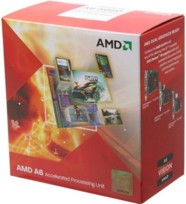 Buy AMD 2.6 GHz FM1 A6 3650 Processor: Processor