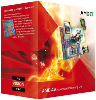Buy AMD 2.1 GHz FM1 A6 3500 Processor: Processor