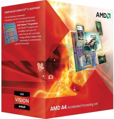Buy AMD 2.7 GHz FM1 A4 3400 Processor: Processor