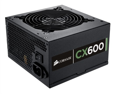 Buy Corsair CMPSU-600CXV2UK/CMPS- CX600W 600 Watts PSU: PSU