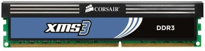 Buy Corsair XMS3 DDR3 4 GB (2 x 2 GB) PC RAM (CMX4GX3M2A1600C9): RAM