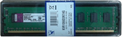 Buy Kingston DDR3 4 GB PC RAM (KVR1066D3N7/4G): RAM