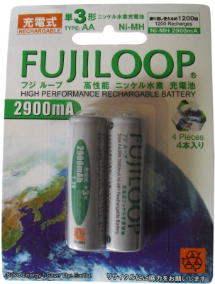 Buy Fujicell Fujiloop (2900 mAh) Rechargeable Ni-MH Battery: Rechargeable Battery