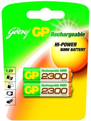 Buy Godrej GP AA 2300mAh (2 Pcs) Rechargeable Battery: Rechargeable Battery