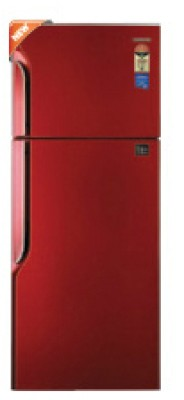 Samsung RT26FCTR1 Double Door   Top Freezer Refrigerator Tango Red available at Flipkart for Rs.18999