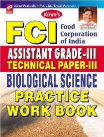 FCI Technical Paper-III, Biological Science PWB (Paperback)