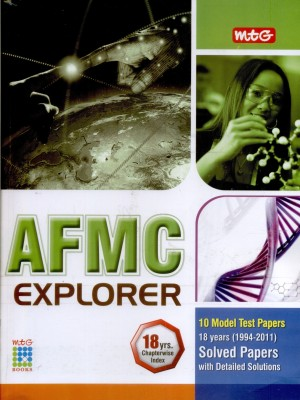 Buy MTG AFMC Explorer: 18 years Chapterwise Index Solved Papers with Detailed Solutions (1994 - 2011): Regionalbooks