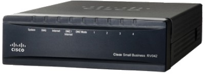 Linksys RV042 Dual WAN VPN Wireless without Modem Router (Black)