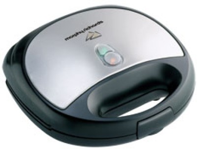 Morphy Richards SM3006 Sandwich Toaster (Steel Black)