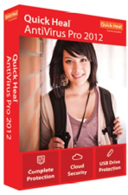 Buy Quick Heal AntiVirus Pro 2012 1 PC 1 Year: Security Software