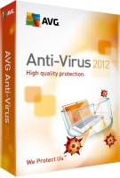 AVG Anti-Virus 2012 1 PC 1 Year: Security Software