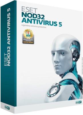 Buy Eset NOD32 Antivirus Version 5 1 PC 1 Year: Security Software