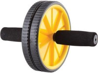 Gadget Bucket AB WHEEL BODY EXERCISER WHEEL FOR TUMMY TRIMMER BODY SLIM Ab Exerciser (Yellow, Black)