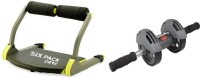 MSE Combo Of Six Pacs Abs Builder & Power Slider-04 Ab Exerciser (Multicolor)