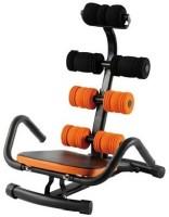 Abrockettwister Zone Flex Total Body Home Gym Exercise Machine Rocket Abdominal Twister Core Abzoneflex Abzone Ab Exerciser (Orange, Black)