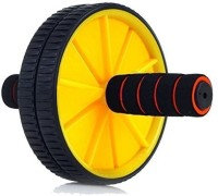 Strauss Double Exercise Wheel (Yellow) Ab Exerciser (Yellow)