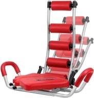 Globalepartner Rocket Twister Abdominal Exercising Home Gym Fitness Ab Exerciser (Red, Black)