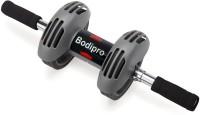 SRJL's AB Roller Ab Exerciser (Black, Silver)