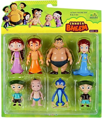 Flipkart Chhota Bheem 8 In One Action Figures at Rs 1210 - 40% off