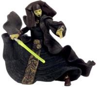 Star Wars Attack Of The Clones Action Figure #26 - Luminara Unduli (Jedi Master) (Multicolor)